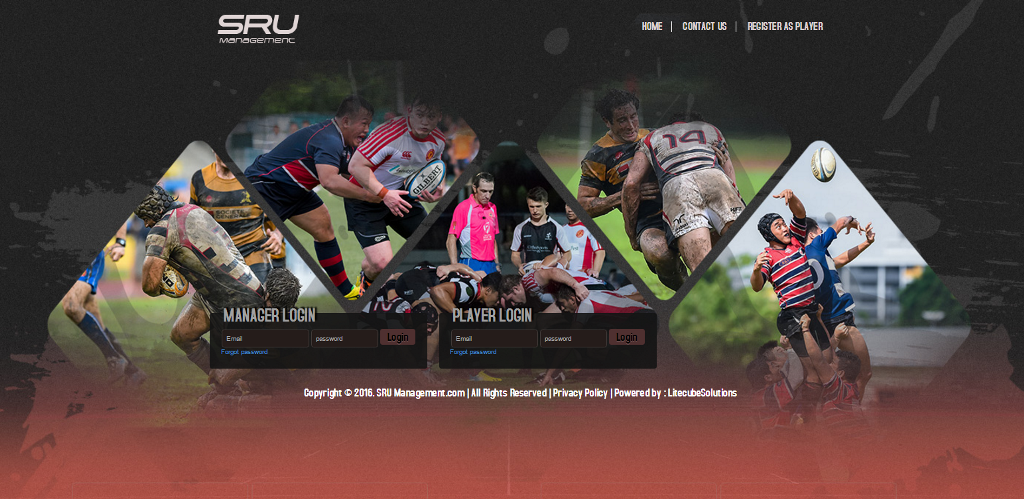 SRU Players Data Management System