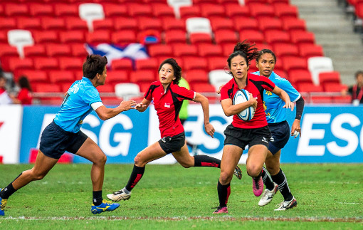 SEA 7s 2015 Womens Finals: Singapore vs Thailand