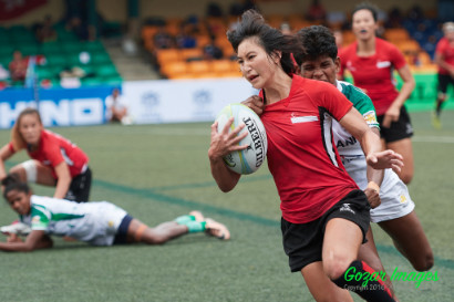 Asia Rugby Womens 7s Series Hong Kong 2016