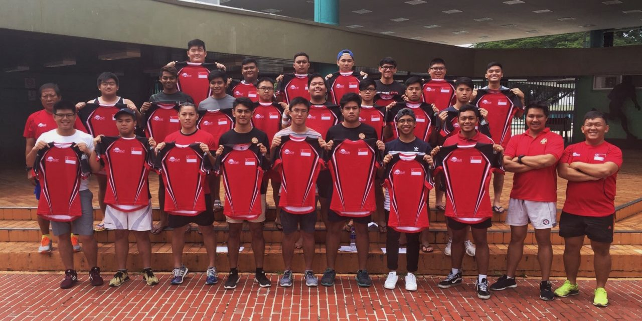 SINGAPORE U19 TEAM ANNOUNCEMENT – Asia Rugby U19 Div 1 Championships