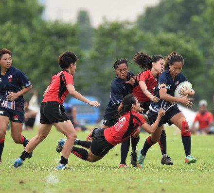 Asia U20 Rugby 7s 2016 Day 1 – JB