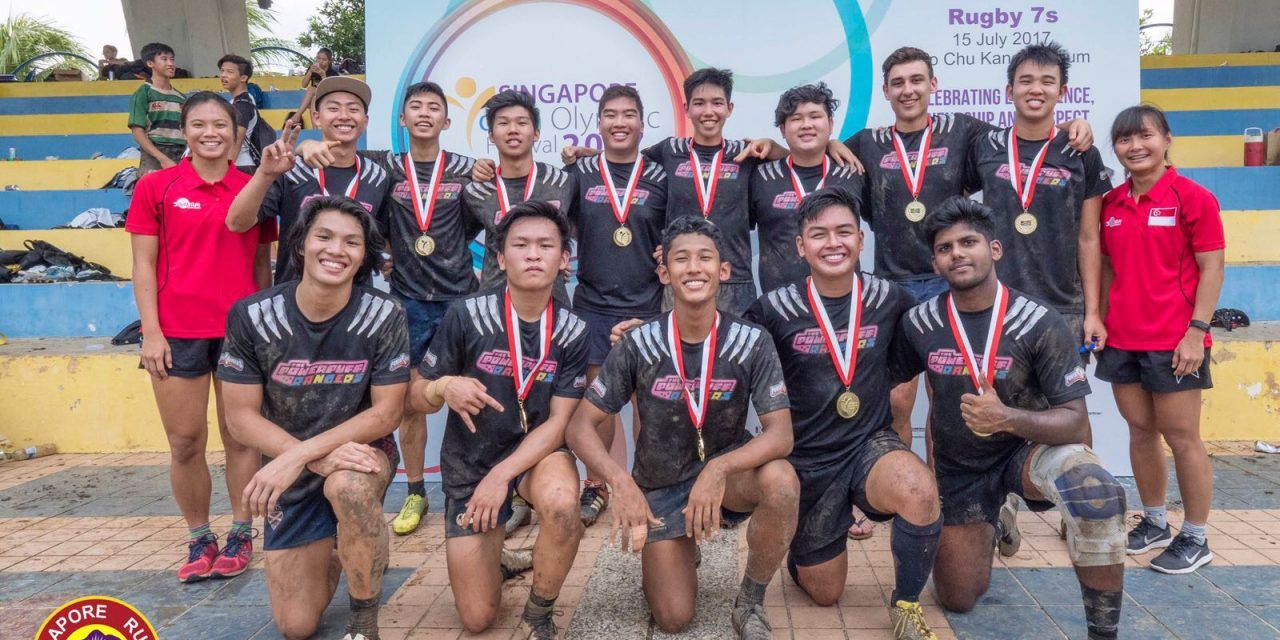 Singapore Youth Olympics Festival Rugby 7s Results