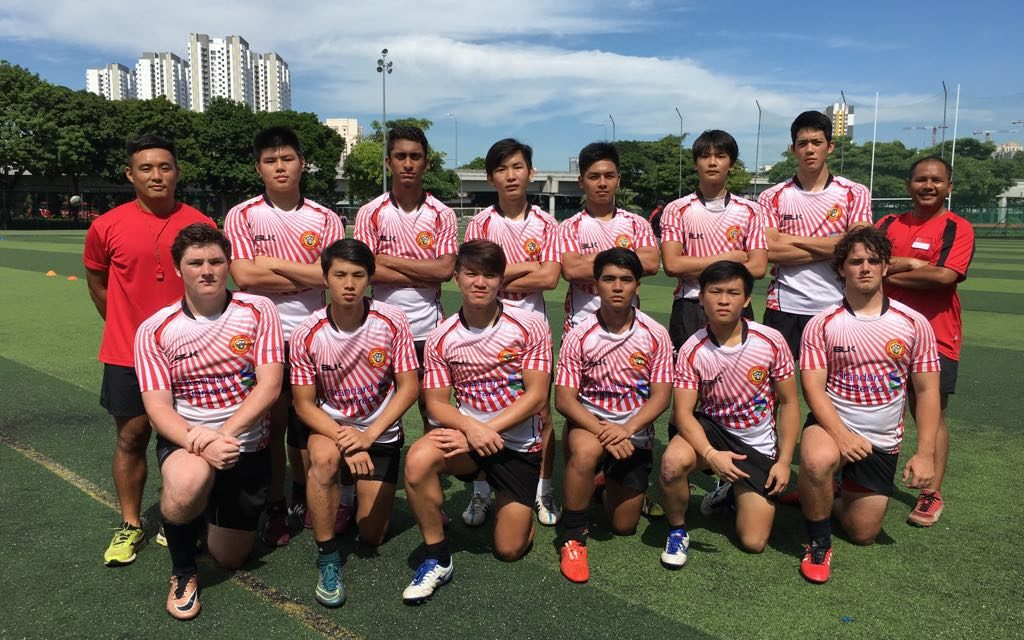Singapore Men U18 Sevens Team Announcement