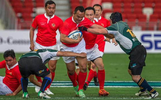 Singapore Legends vs Japanese Dragons