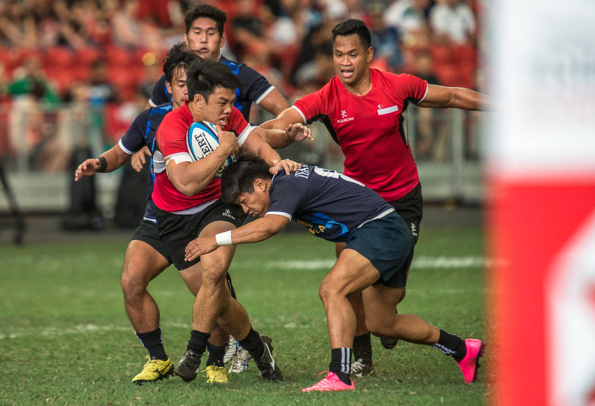 SEA 7s 2015 Mens Finals, Singapore vs Thailand