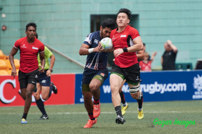 Asia Rugby Mens 7s Series Hong Kong 2016