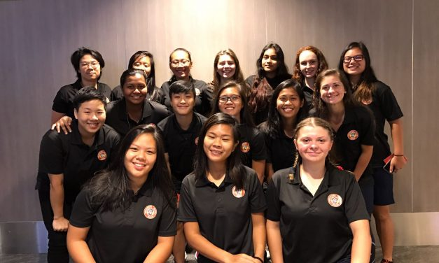 SRU Women's Academy at the Zurich All Girls Rugby Tournament 2017