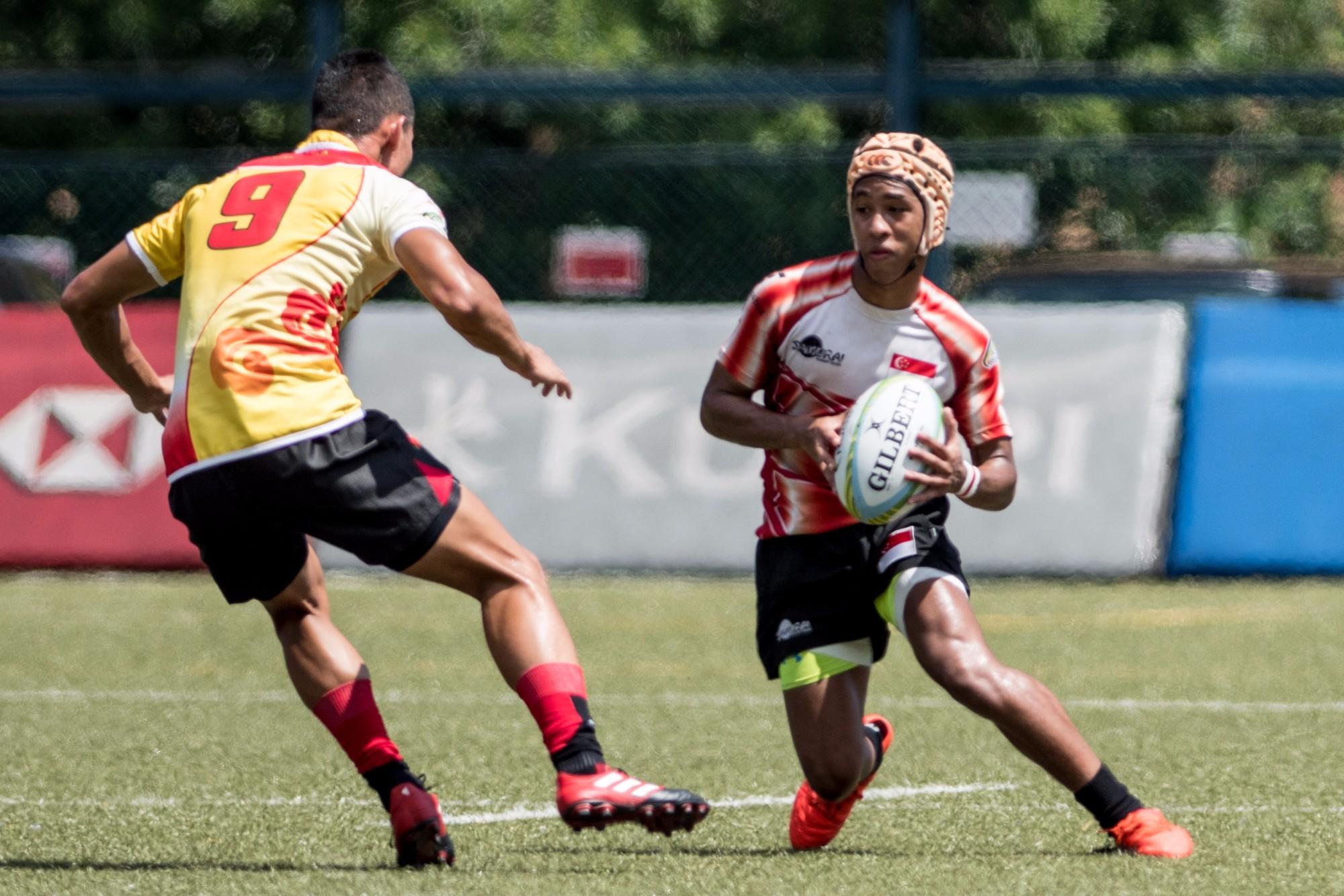 Asia Rugby U20 Sevens Series 2017 (Hong Kong)
