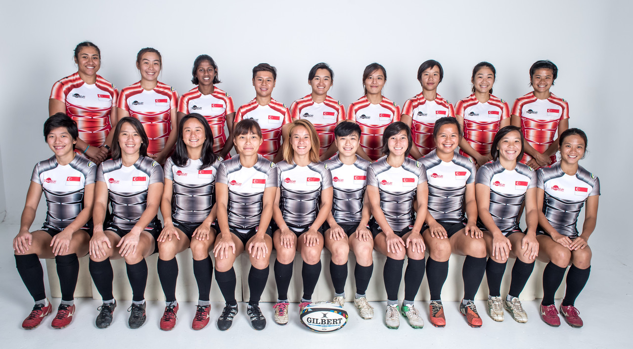 Asia Rugby Women's Sevens Series Singapore Women's 7s Team