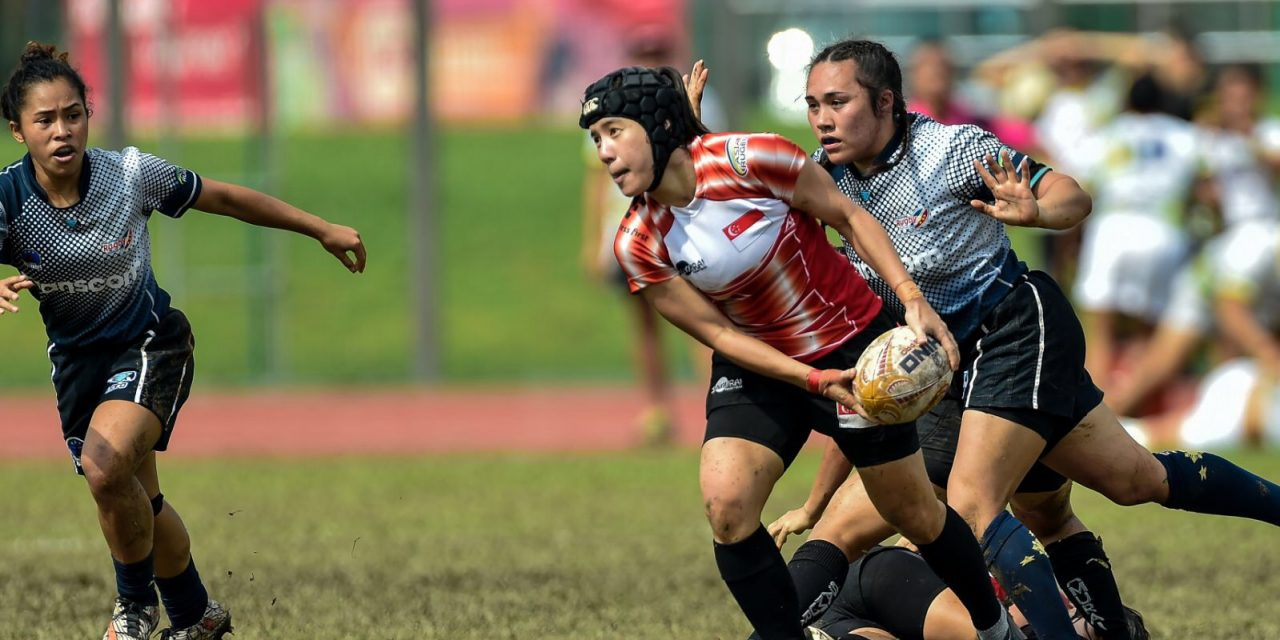 Singapore Rugby Women's 7s squad looking to secure place at the 2018 Asian games with strong final leg finish