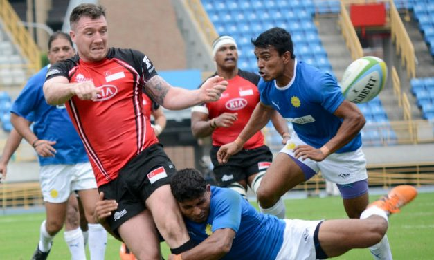 Team Singapore Into The Asia Rugby Championship Division 2 Finals